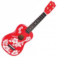 UKULELE FL15RD - RED  FLOWER