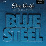 DM2678 BLUE STEEL LIGHT 5 STRING 45-125 SET ŽICA ZA BAS GITARU