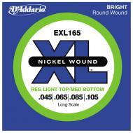 Set žica za bas gitaru Regular Light 45-105 - EXL 165