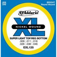 Set žica za električnu gitaru Super Light - EXL125