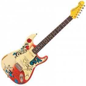 V6MRHDX THOMAS BLUG SIGNATURE električna gitara  - SUMMER OF LOVE - 1