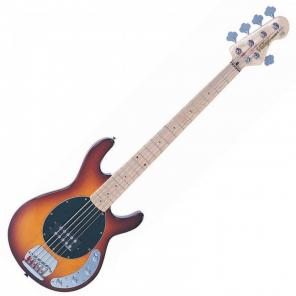V965TSB 5-STRING ACTIVE BASS - FLAMED TOBACCO SUNBURST   The combination of a chunky Wilkinson doubl