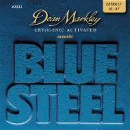 DM2032 BLUE STEEL CRYOGENIC XL EXTRA LIGHT 10-48 SET ŽICA ZA AKUSTIČNU GITARU