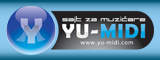 Posetite yu-midi.org - Sajt za muzičare